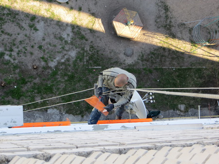 climbing frames: Rope access insulation