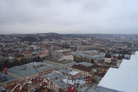 lviv: Lviv cityscape