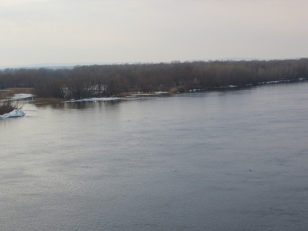 dnieper: River Dnieper on spring