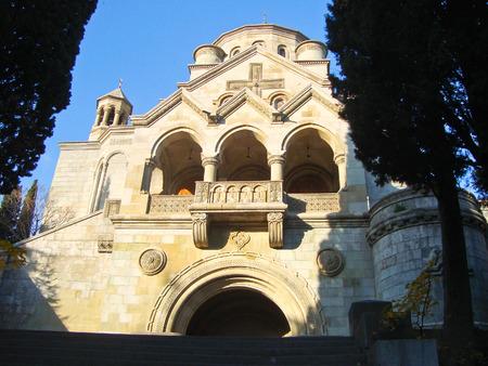 armenian: Armenian church in Yalta