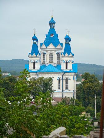 ukraine: Church, Kamianets-Podilskyi, Ukraine