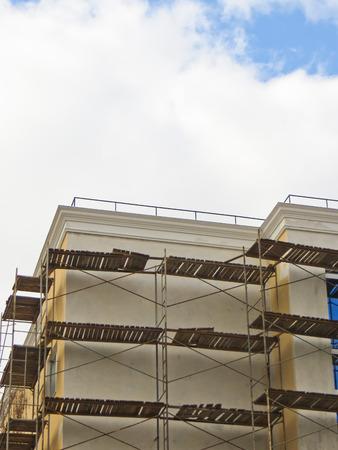 andamio: Andamios, la construcción de viviendas