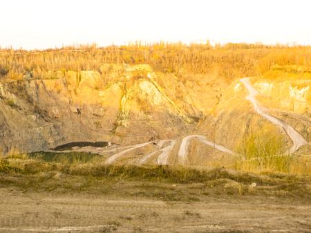 granite: Granite quarry