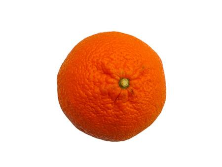 mandarin: Mandarin isolated on white