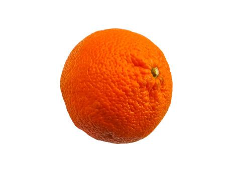 mandarins: Mandarin isolated on white