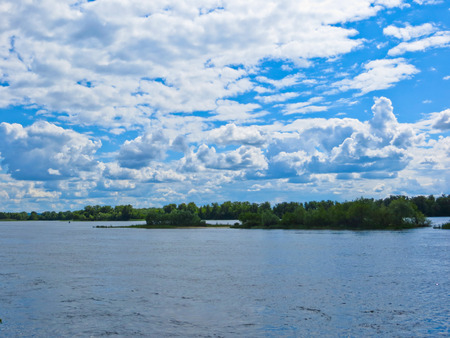 dnieper: View on the river Dnieper