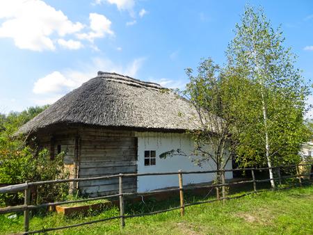 ukrainian: Old ukrainian traditional  house