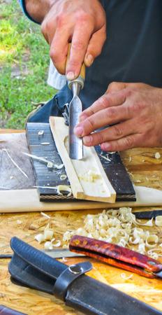 scheide: Scheide für Messerherstellung