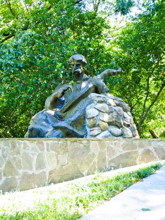 Monument to kobzar in Chigirin