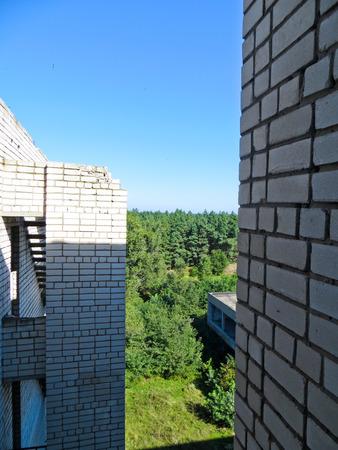 multistory: Abandoned multistory building in Ukraine