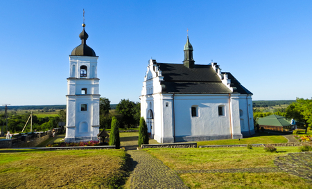 St. Elias Church in Subotiv village, Ukraine (Khmelnitsky burial vault) Stock Photo
