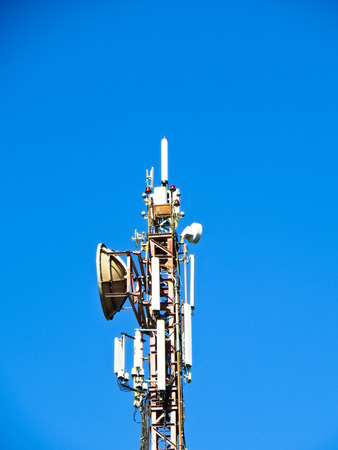 communication tower: Cell communication tower