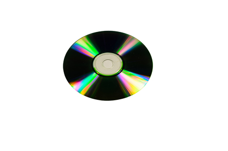 Cd disk isolated on a white background