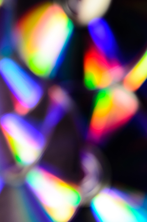 dvd rom: Abstract and blurred background of the cd disks