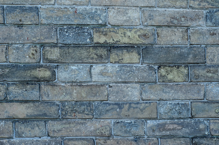 weathered: Texture of brick wall as a background