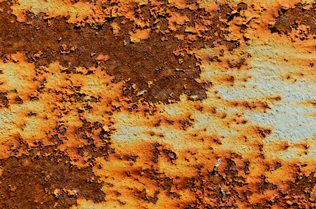 patchy: Old and rustic sheet of the metal Stock Photo