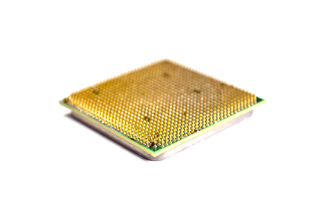 processors: Computer processor isolated on a white background
