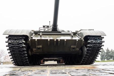 Armored tank in memorial of the Great Patriotic War in Kiev, Ukraine
