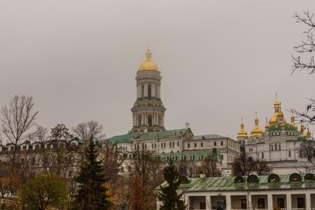 View on buildings of the Kiev Pechersk Lavra