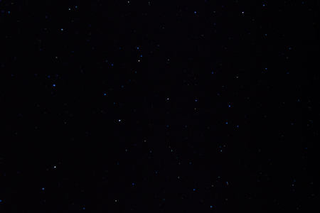 Background of night sky with many stars