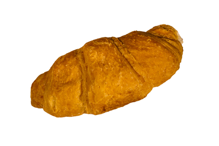 Fresh croissant isolated on a white background