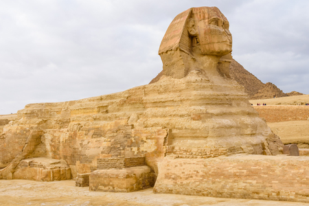 Great Sphinx in Giza plateau. Cairo, Egypt