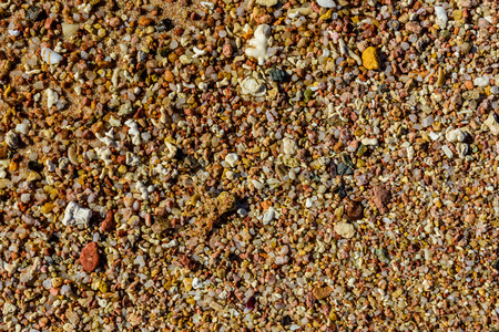 Texture of wet sand for the background