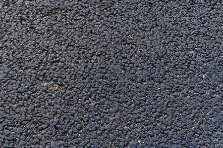 Texture of new asphalt road for background