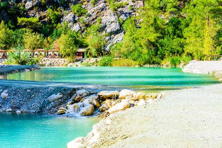 River in Goynuk canyon. Antalya province, Turkey