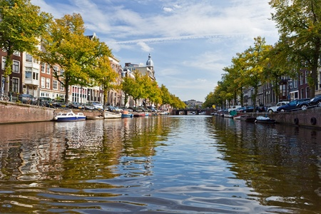 Amsterdam canals photo