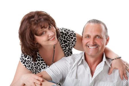 nice elderly couple photo