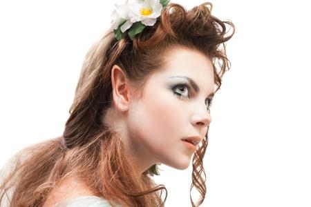 beautiful elven girl photo