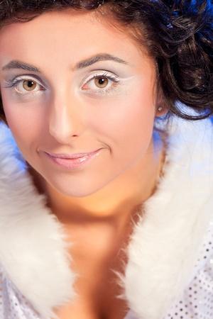 Beautiful girl like Snow White Stock Photo - 12503874