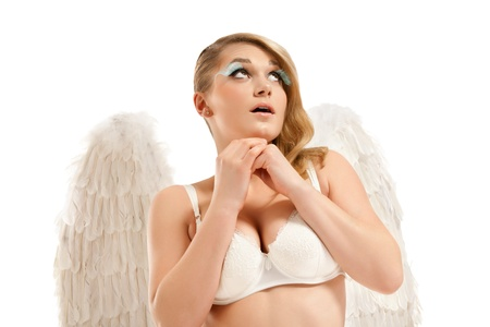 Beautiful sexy Angel  photo