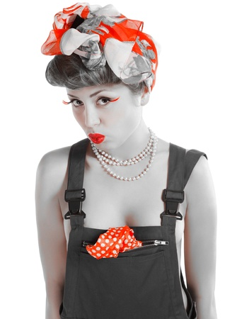 pin-up girl Stock Photo - 13014104
