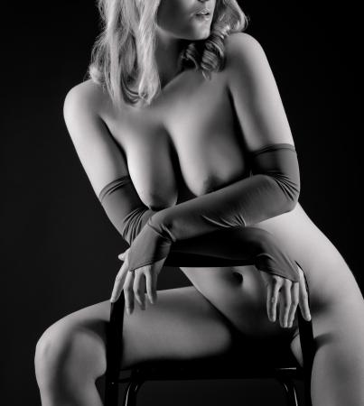 attractive nude woman