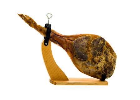 traditional spanish jamon serrano, italian parma, hamon iberico, prosciutto