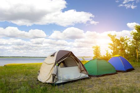 Campground. Outdoor recreation.