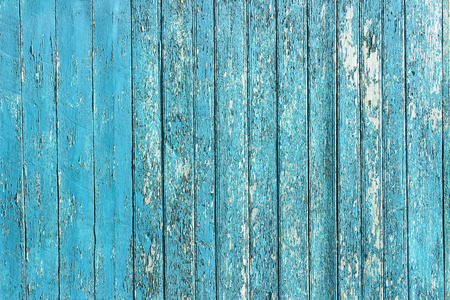 decrepit: Old shabby wooden planks with cracked color paint, background old panels. Color-Peel wood texture. Fracture wall. Ruined floor. The texture of the destroyed wooden wall. Decrepit fence. Stock Photo