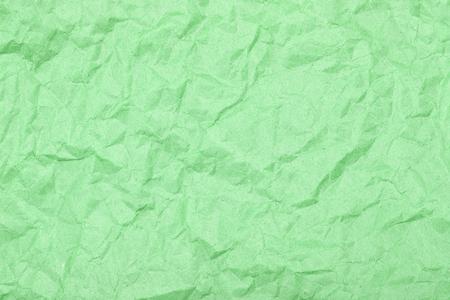 Crumpled sheet of paper. Texture closeup.