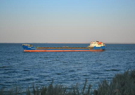 river tanker