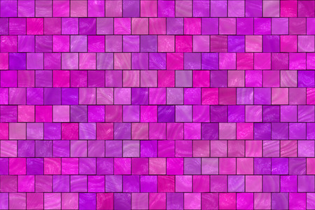 rosy: Abstract background of violet, purple, rosy and pink square tiles.