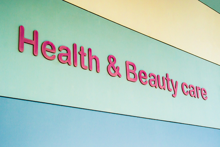 Pattaya, Thailand - December 01, 2018: Health & Beauty care 報道画像