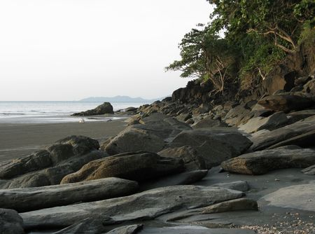 inshore landscape on Andaman sea photo
