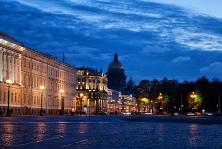 Evening in St Petersburg Stock Photo - 17069735