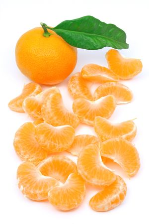 Tangerine fruit Stock Photo - 2780346