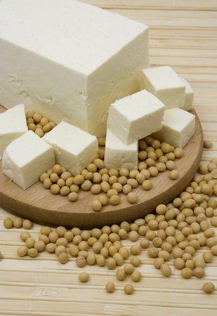 tofu: Tofu and soy beans