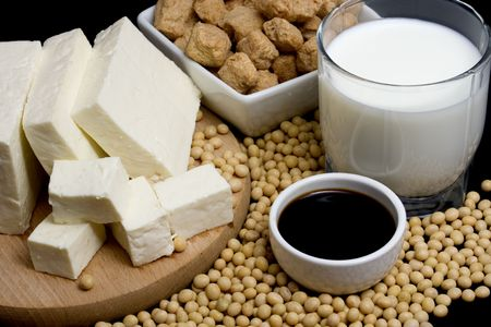 tofu: Soy sauce, tofu and other soy products