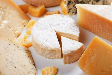 goat cheese: Soft cheese, brie or camembert, with other cheeses