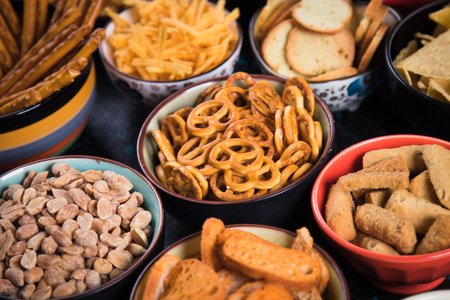 Image result for bowls of chips at party